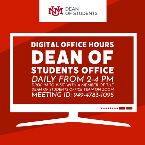 Dean of student's office hours